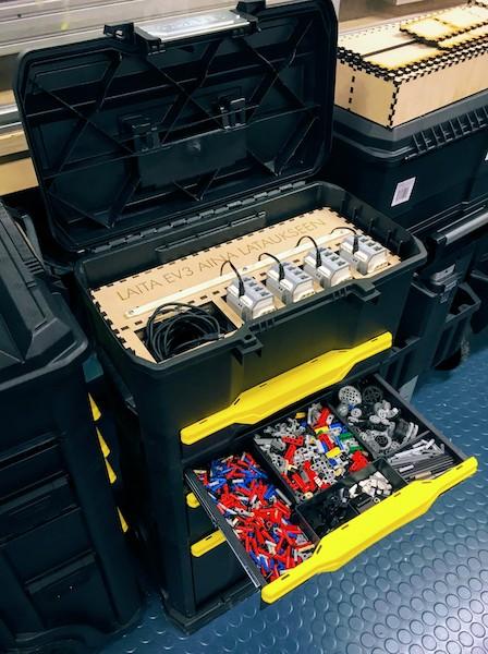 LEGO EV3 x 4 pakki