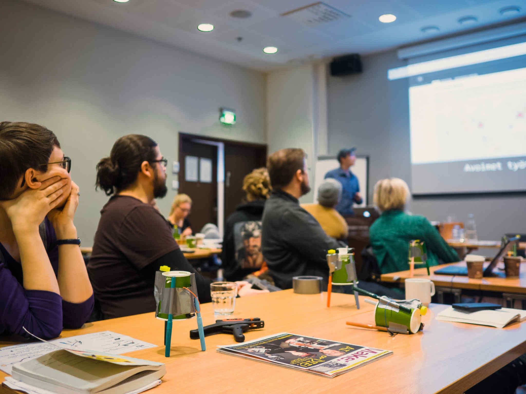 Elektronik-koulutuskiertue Verke 2018