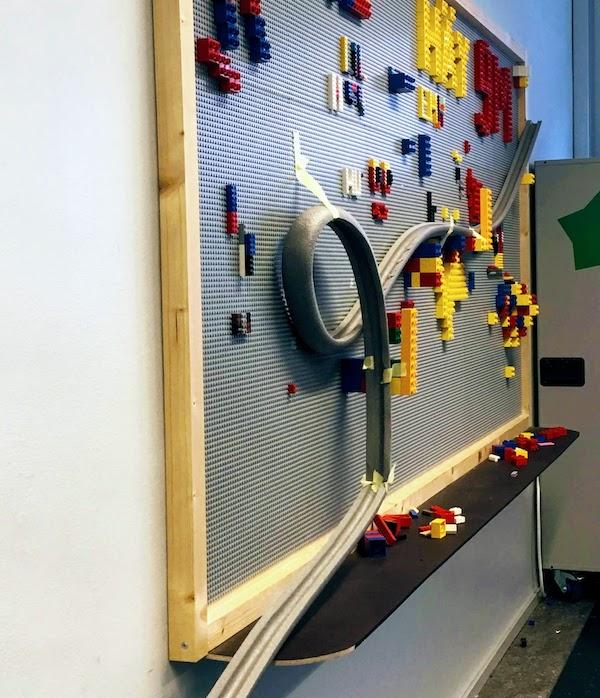 Kuularata lego-seinällä!